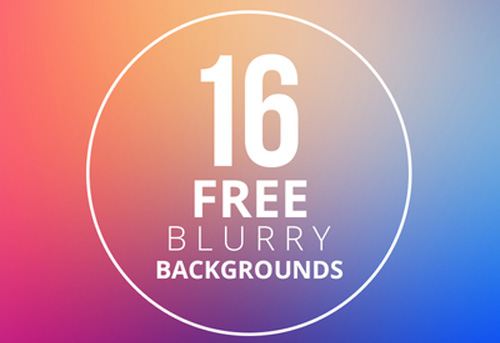 Free Blurry Backgrounds (16 Items)