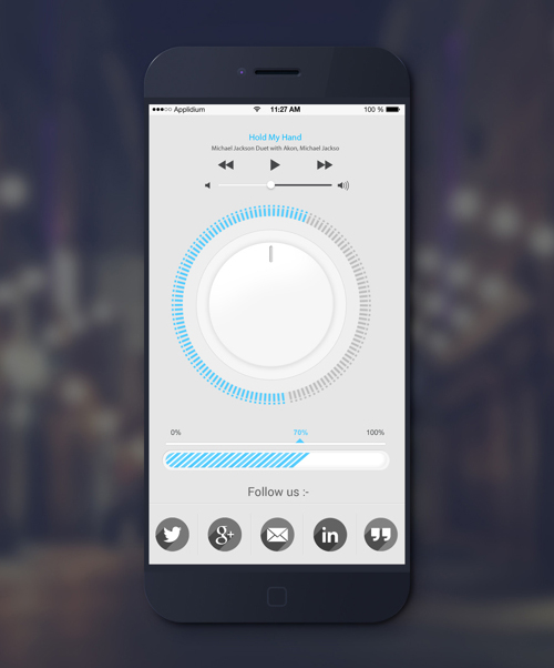 Mobile Apps with Circular Vibe Menus - 9