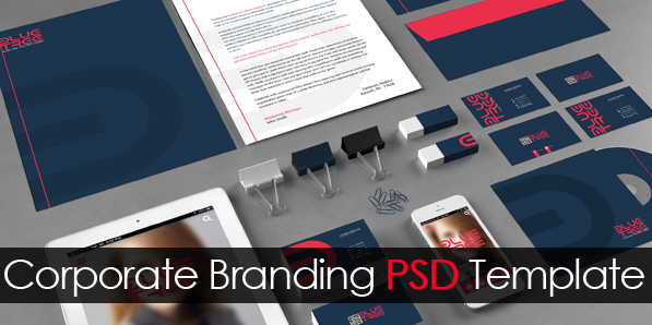free corporate branding psd template freebies graphic design