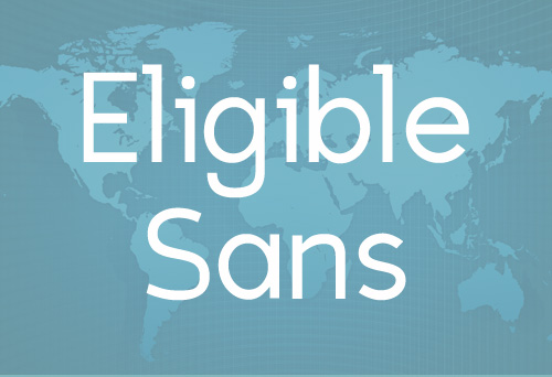 Eligible Sans free fonts