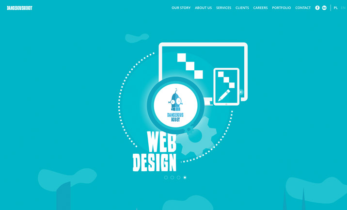 Flat Website Design Examples For Inspiration - 4