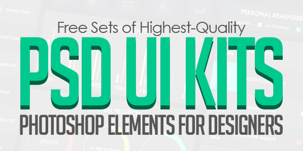 19 Free Photoshop UI Elements & PSD UI Kits for Designers