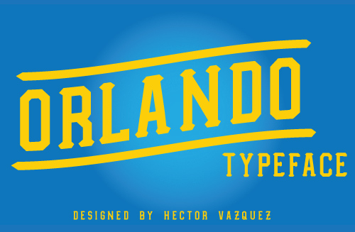Orlando Typeface font free download