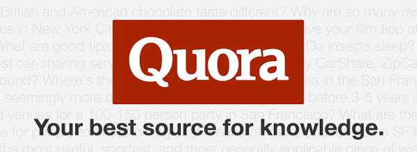 Quora has an enormous measure of potential for thought era