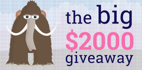 The Big $2000 Giveaway