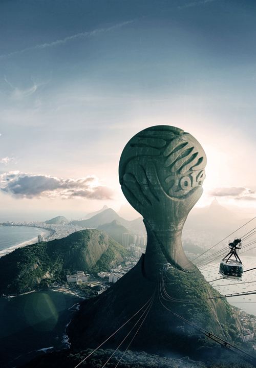 Worldcup 2014 Brazil Photo Manipulation