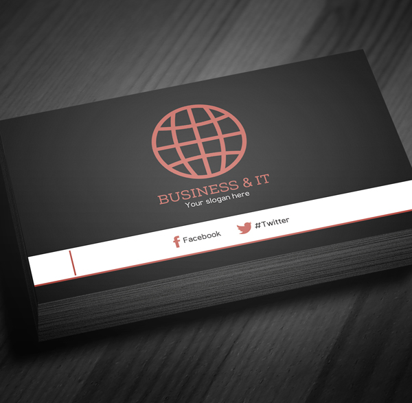 Free corporate business card template psd freebies graphic corporate business card template psd 4 accmission Images