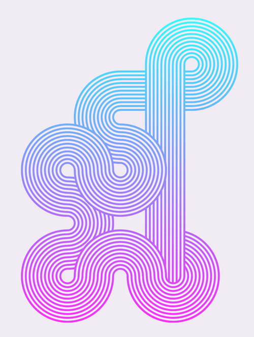 How To Create Geometric Stripy Line Art in Illustrator