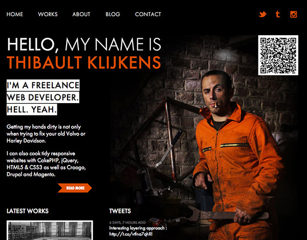 HTML5 and CSS3 Websites Design for Inspiration - 4