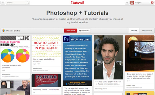 Photoshop Tutorials Pinterest Boards - 11