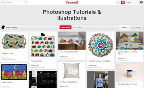 Photoshop Tutorials Pinterest Boards - 12