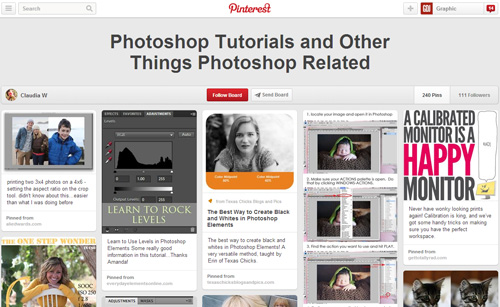 Photoshop Tutorials Pinterest Boards - 13