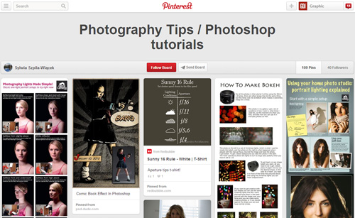 Photoshop Tutorials Pinterest Boards - 14