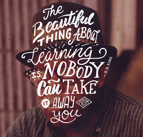 Typography Posters: 30 Motivational and Inspiring Quotes - 2