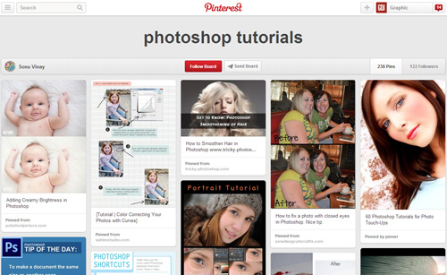 Photoshop Tutorials Pinterest Boards - 21