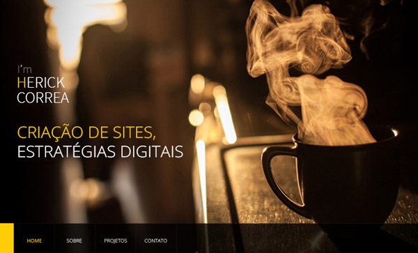 Flat Websites Design - 28