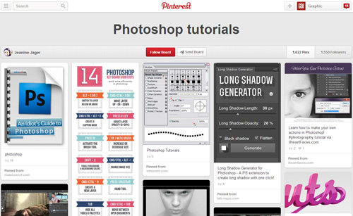 Photoshop Tutorials Pinterest Boards - 6