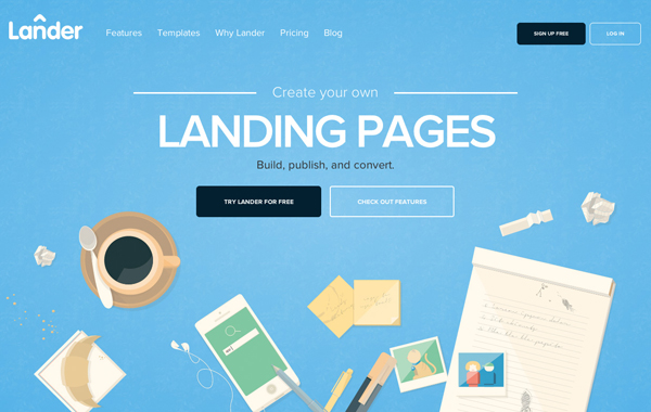 Flat Websites Design - 8
