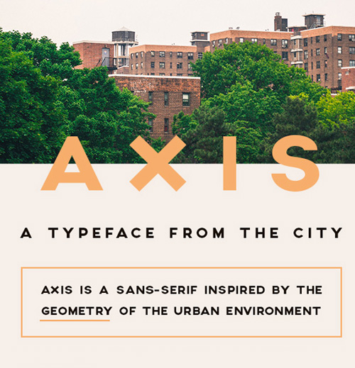AXIS Free Fonts 2014