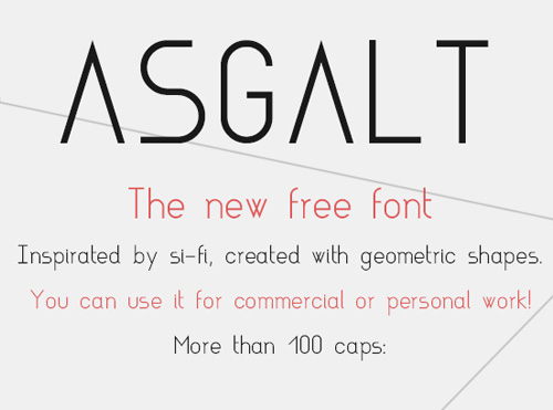 50 Free Fonts - Best of 2014 - 32