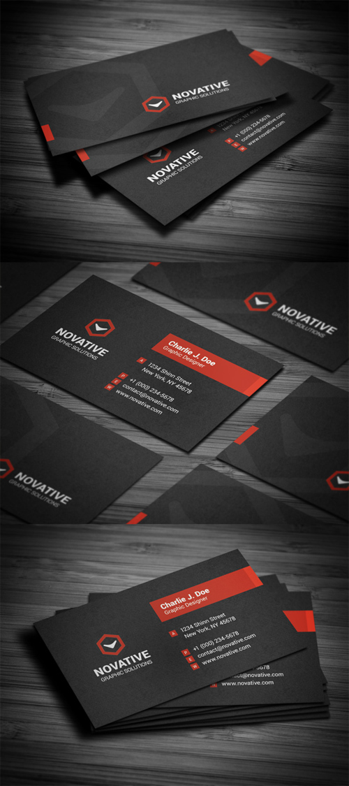 Business Card Templates (PSD) - 1