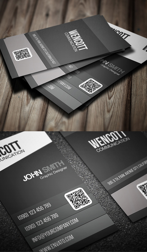 Business Card Templates (PSD) - 2