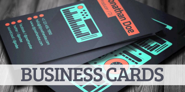 Amazing DJ Business Cards PSD Templates | Design | Graphic Design ...