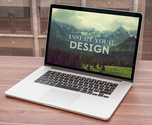 MacBook PSD Mock-ups