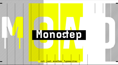 Monostep free fonts for designers
