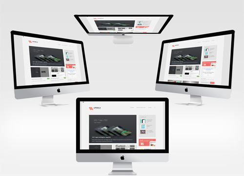 New iMac PSD Mock-ups Set