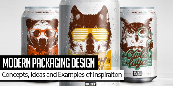 25 Modern Packaging Design Examples for Inspiration