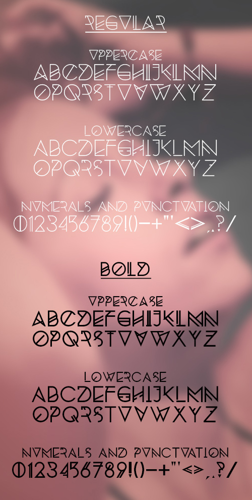 Silent Lips free fonts letters for designers