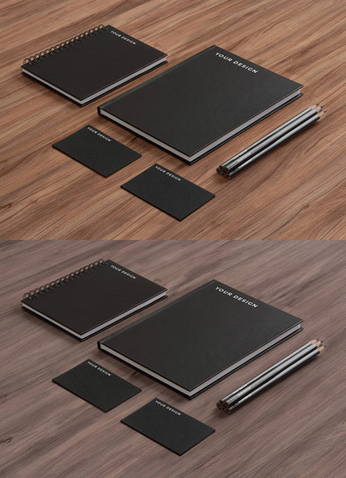 Stationery PSD Mock-ups