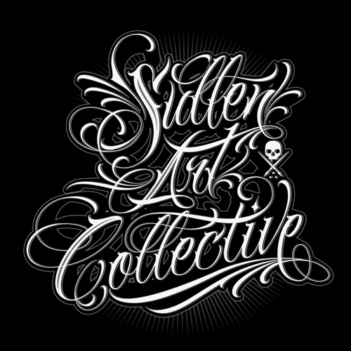 Sullen Art Collective Typogrpahy design by Catrin Valadez