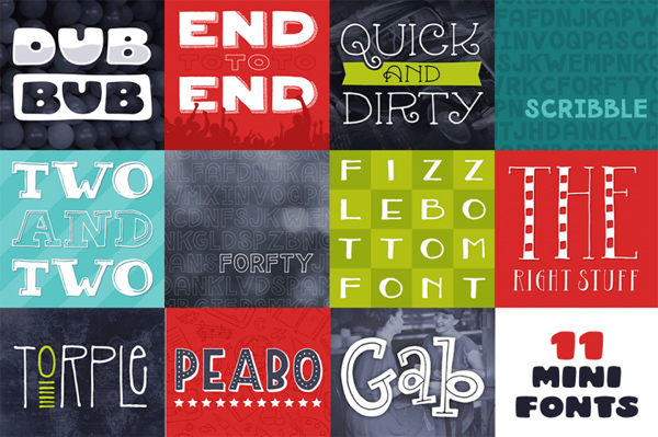 Best Fonts Mega Bundle