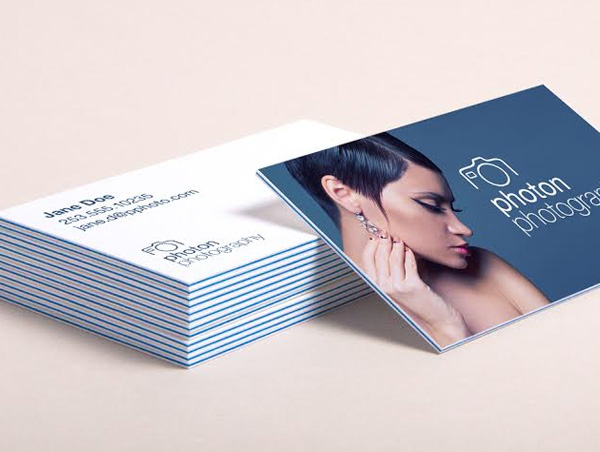 Premium Tri-Luxe Business Cards design