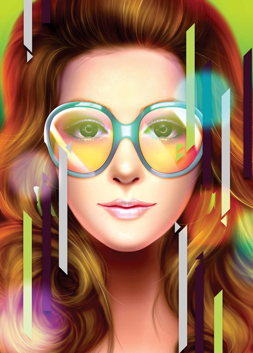 Paint an 80s Airbrush Portrait Photoshop Tutorial