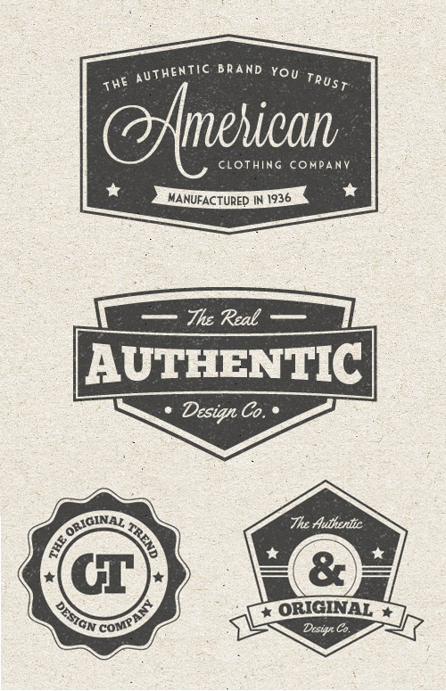 Free Vintage Label Vector Graphics