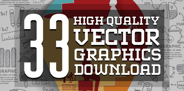 33 Free Vector Graphics and Vector Infographics Resources for Designers