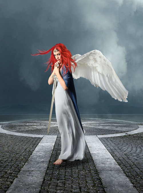How to Create Amazing Guardian Angel Portrait in Photoshop
