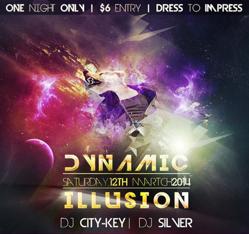 How to Create a Dynamic Poster You Can Use for Night Clubs
