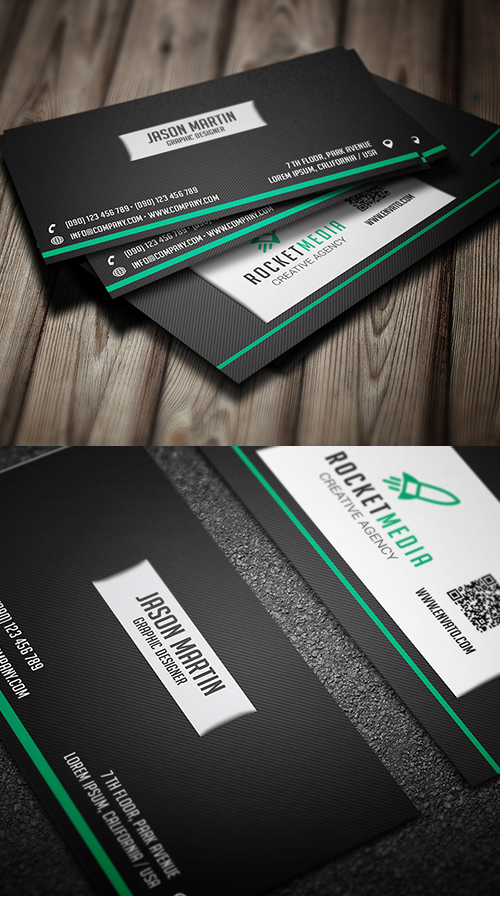 Designers Business Card PSD Templates - 2