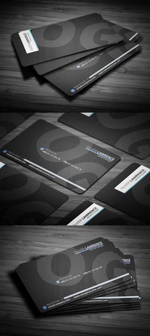 Designers Business Card PSD Templates - 24