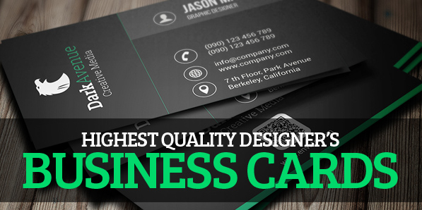 Best of 2014 - 26 Designers Business Card PSD Templates