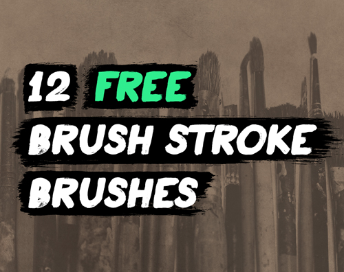 free brush stroke Illustrator brushes