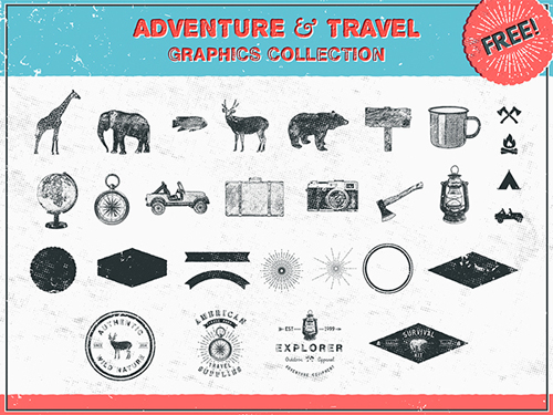 Adventure and Travel Graphics
