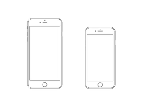 Free Iphone 6 And Iphone 6 Plus Mockups Psd Ai Sketch