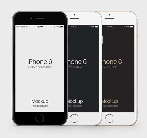 Free Iphone 6 And Plus Mockup Templates Psd Ai Sketch