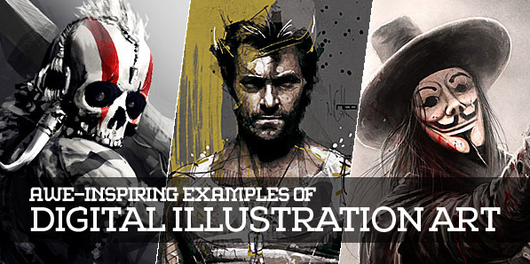30 Awe-Inspiring Examples of Digital Illustration Artwork