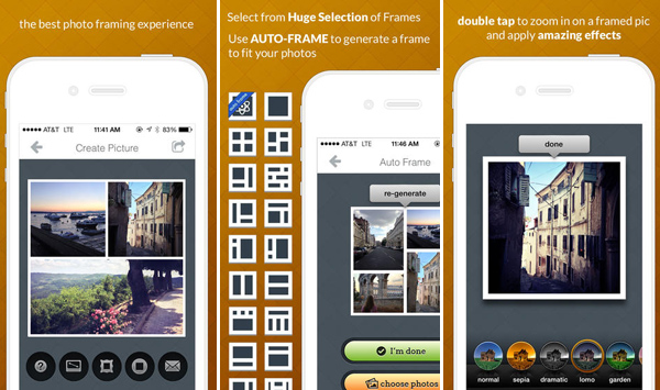 Frametastic iPhone App for Designers